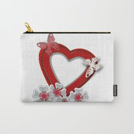 Love is like butterfly Carry-All Pouch