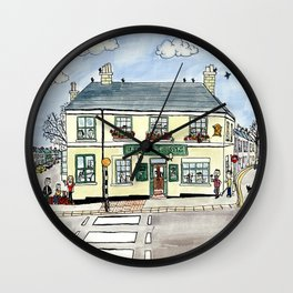 The Elephant and Castle, Lewes Wall Clock