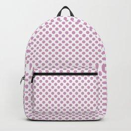 Pastel Lavender Polka Dots Backpack