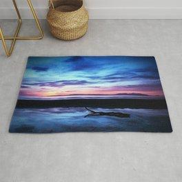 Sunset Over Troon Beach Rug