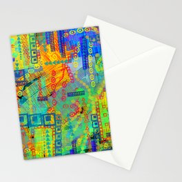 Nouveau Nights Stationery Cards