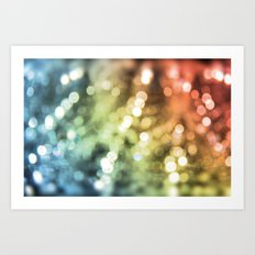I Remember The Light In Your Eyes Art Print