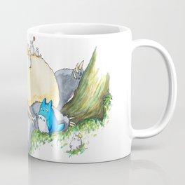 Ghibli forest illustration Coffee Mug