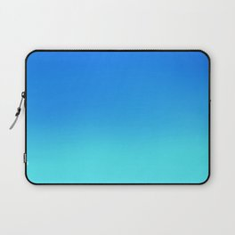 Blue Ombre Laptop Sleeve