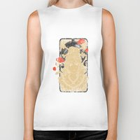 art nouveau Biker Tanks featuring Art Nouveau by Tshirt-Factory