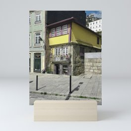 Yellow Porto Mini Art Print
