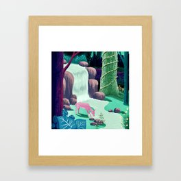 The Whispering Waters of Eventide Vale Framed Art Print
