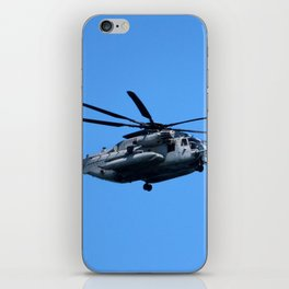 Marine Helicopter In Flight iPhone Skin