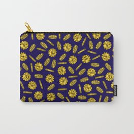 Golden Pirate Doubloon Pattern Carry-All Pouch