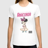 anaconda T-shirts featuring Minnie Minaj Anaconda  by J. Neto