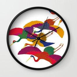 TSURU Wall Clock
