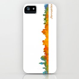 Jerusalem City Skyline Hq v1 iPhone Case
