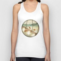 agnes Tank Tops featuring ideas and goldfish by Vin Zzep