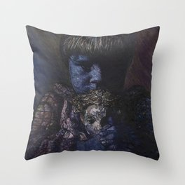 Time Story:  Storyboard VIII Throw Pillow
