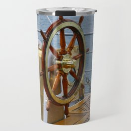 Helm wheel Travel Mug