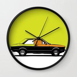 Pop ART car Wall Clock