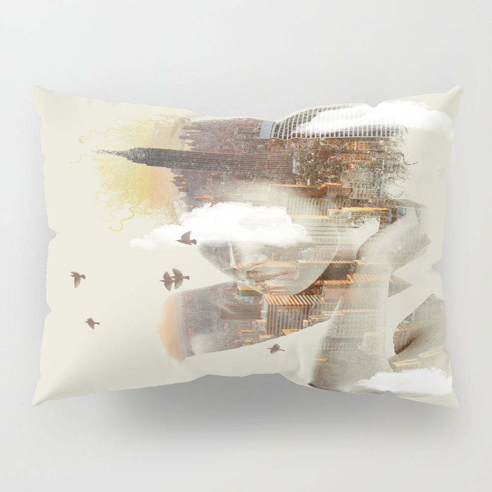 New York City Dreaming Pillow Sham by Nivpezz PSH8050957