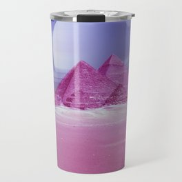 Pyramids, Saturn & the Desert Travel Mug