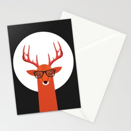OHH DEER Stationery Cards