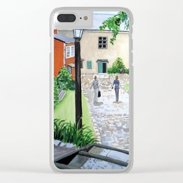 Going Home Clear iPhone Case
