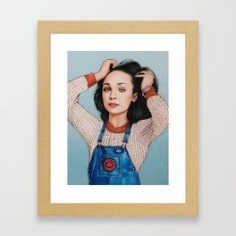 Maddie Ziegler Framed Art Print