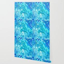 Aqua Ocean Blue Wallpaper
