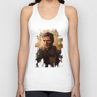 mad max Tank Tops featuring Max by nlmda
