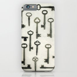 The Key Collection iPhone Case