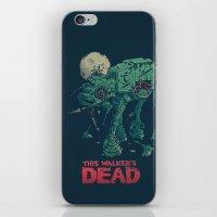 dead iPhone & iPod Skins featuring Walker's Dead by Victor Vercesi