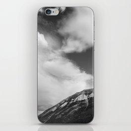 Landscape Minimalist Photography Waterton   Black and White   black-and-white   bw iPhone Skin