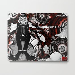"""""""A Letter to a Rose from Asteroid B-612"""" Metal Print"""