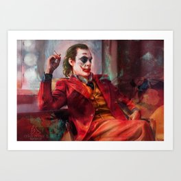Send in The Clowns Art Print