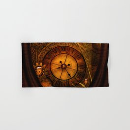 Awesome noble steampunk design Hand & Bath Towel