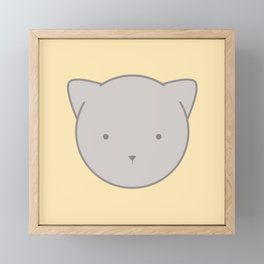 Chloe Cat Framed Mini Art Print