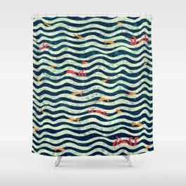 Sea roommate Shower Curtain