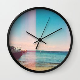 Water in the Light Wall Clock