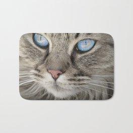 Blue eyes Bath Mat