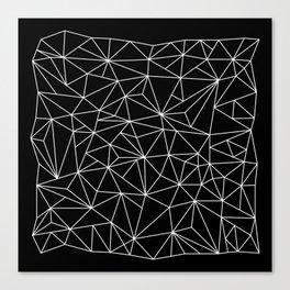 Geometric Jane 2 Canvas Print