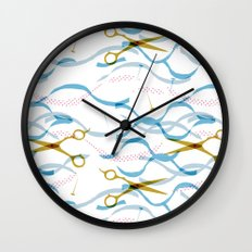 Scissors Wall Clock
