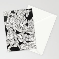 Abstract curlicues Stationery Cards