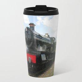 Vintage steam engine railway train Travel Mug