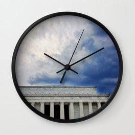 Dramatic Background Wall Clock
