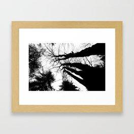 Inky Giants Framed Art Print