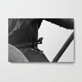 Hidden Bird Metal Print