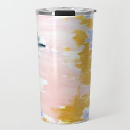 Multicolor spring abstract Travel Mug