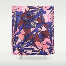 Pink Olives Shower Curtain