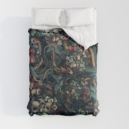 Skulls and Snakes Comforters