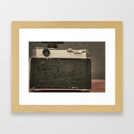 Retina Framed Art Print