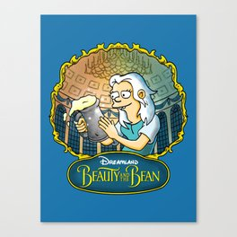 Disenchantment vs Beauty and the Beast Canvas Print