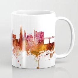 Dundee Scotland Skyline Coffee Mug